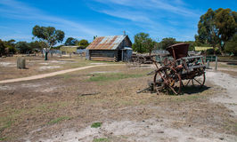 Heritage farm. With the blue sky Stock Images