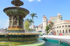 Heritage fountain at dataran merdeka Stock Image