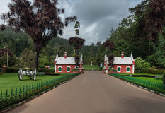 Heritage Gate at Ooty Botanical Garden. Royalty Free Stock Images