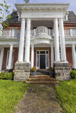 Heritage Home. Beautiful heritage home with large colomns stock images