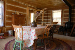 Heritage kitchen. An antique kitchen in a traditional old farm Royalty Free Stock Image