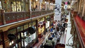Strand Arcade, Sydney City, Australia. Heritage listed Victorian era Strand Arcade retail arcade, Sydney City Central Business District, NSW, Australia. View stock video