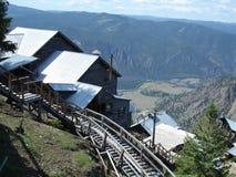 Heritage Mine Above Similkamine Valley Stock Photography