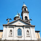 Heritage  old architecture in italy europe milan religion Royalty Free Stock Photography