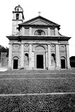 Heritage  old architecture in italy europe milan religion Royalty Free Stock Photos