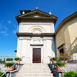 Heritage  old architecture in italy europe milan religion Royalty Free Stock Image