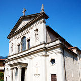 Heritage  old architecture in italy europe milan religion Stock Image