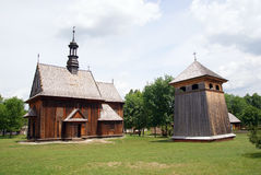Heritage Park in Tokarnia Royalty Free Stock Images