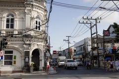 Heritage of phuket stock photo