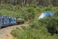 Heritage railway in the Nilgiri mountains Stock Images