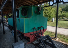 Heritage railway in Serbia Stock Images