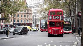 Heritage Routemaster Bus stock footage