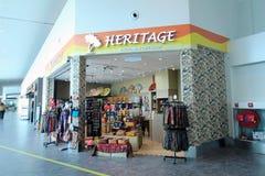 Heritage shop in Kuala Lumpur International Airport Stock Photos