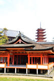 Heritage shrine with pagoda Royalty Free Stock Images