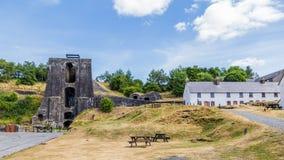 Blaenavon Ironworks in Wales, UK. Heritage site Blaenavon Ironworks in Wales, UK royalty free stock image