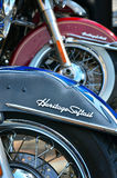 Heritage Softail classic Stock Photography