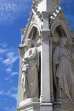 Heritage Statues of Justice Stock Photography