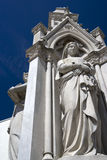 Heritage Statues of Justice Stock Photo