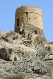 Heritage tower in Oman Stock Photo