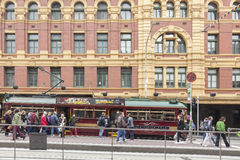 Heritage tram in Melbourne Royalty Free Stock Image
