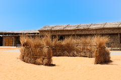 Heritage village in Dubai, UAE Royalty Free Stock Photography
