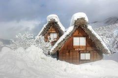 Heritage village Japan Shirakawago Royalty Free Stock Photo