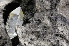 Herkimer diamond royalty free stock photo