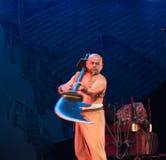 Herkules, der Broadsword-akrobatische showBaixi Traum-Nacht spielt Lizenzfreie Stockbilder