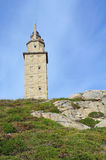 Herkules-Kontrollturm in Spanien Stockfotos