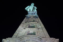 Herkules statue kassel germany at night Stock Photography
