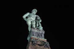 Herkules statue kassel germany at night Royalty Free Stock Photography
