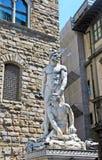 Herkules und Cacus, Florenz, Italien Lizenzfreies Stockfoto