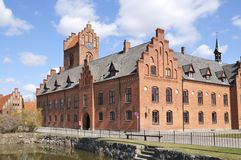 Herlufsholm Boarding School Stock Photo