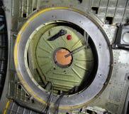 Hermétique a fermé la trappe de la navette spatiale Buran Photo stock