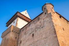 Herman castle, facade fragment. Narva. Estonia Royalty Free Stock Photo