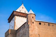 Herman castle or Hermanni linnus, Narva. Estonia Stock Photo