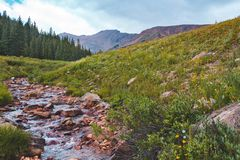 Herman Gulch Trail, Colorado royalty free stock images