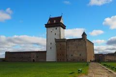 Herman kasztel w Narva zdjęcia royalty free