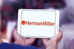 Herman Miller-Möbelherstellerlogo Lizenzfreie Stockfotos