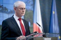 Herman Van Rompuy Royalty Free Stock Image
