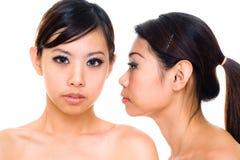 Hermana asiática hermosa Fotos de archivo