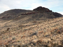 Hermana Peaks Oregon Owhyees Imagenes de archivo