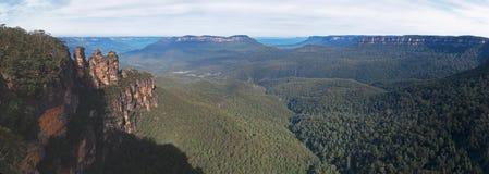 Hermana tres de Echo Point Nuevo Gales del Sur Fotos de archivo libres de regalías