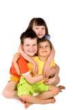 Hermana y hermanos Imagen de archivo libre de regalías