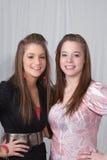 Hermanas adolescentes Foto de archivo