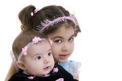 Hermanas de la familia Imagen de archivo libre de regalías
