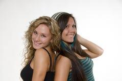 Hermanas encantadoras Fotografía de archivo