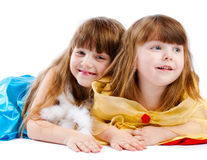 Hermanas felices Imagen de archivo libre de regalías