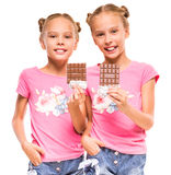 Hermanas gemelas Foto de archivo