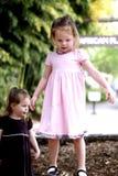Hermanas gemelas Fotos de archivo libres de regalías